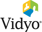 Logo web conference www.vidyo.com