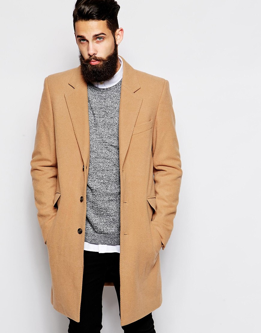 Manteau d'hiver chic homme